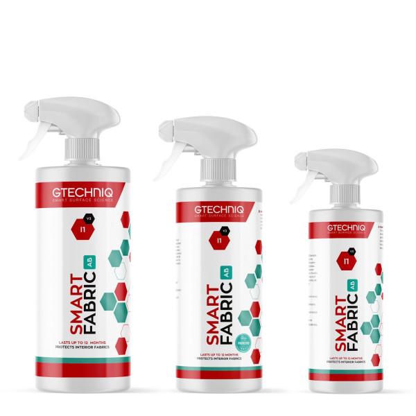 Gtechniq Smart Fabric AB I1 antibakterielle, antivirale Stoffversiegelung 250ml - Übersicht