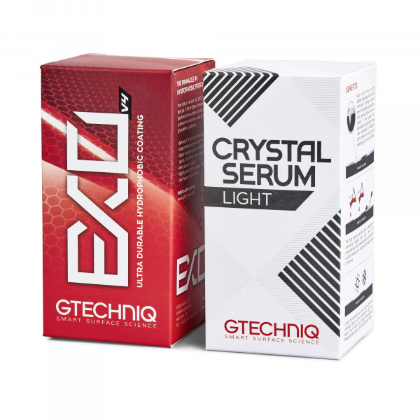 Gtechniq Crystal Serum Light CSL + EXOv4 Keramikversiegelung Bundle