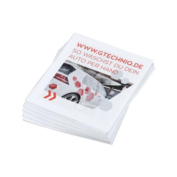 Gtechniq Washguide Handwaschanleitung deutsch 10 Stück