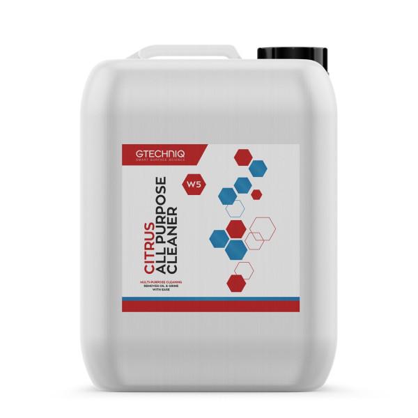 Gtechniq Citrus All Purpose Cleaner W5 Allzweckreiniger 5L
