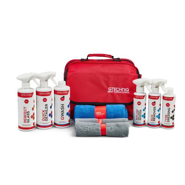 Gtechniq Essential Maintenance Kit vollständiges Pflegepaket mit Tasche